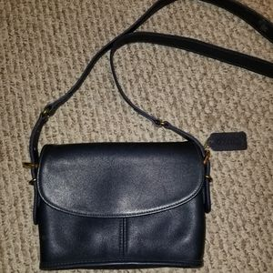 Coach Navy Crossbody